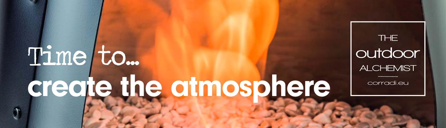 Time to create rhe atmosphere
